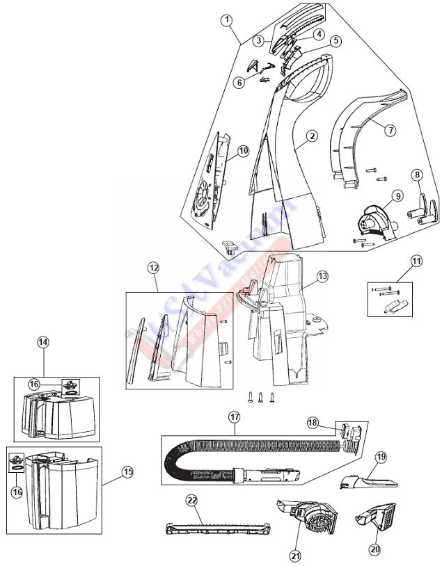 Rug Doctor Mighty Pro X3 Parts Diagram : doctor, mighty, parts, diagram, Doctor, Mighty, Parts, Manual, Doctor,, Pics,