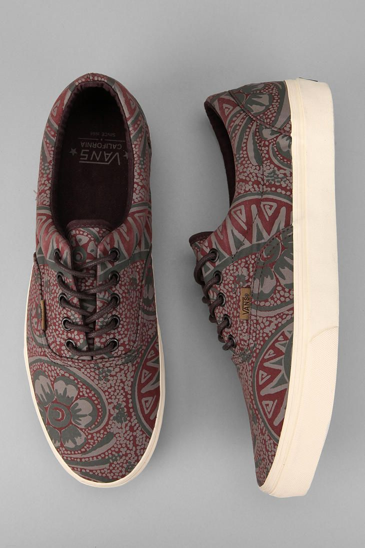Vans California Washed Paisley Era Sneaker  #UrbanOutfitters