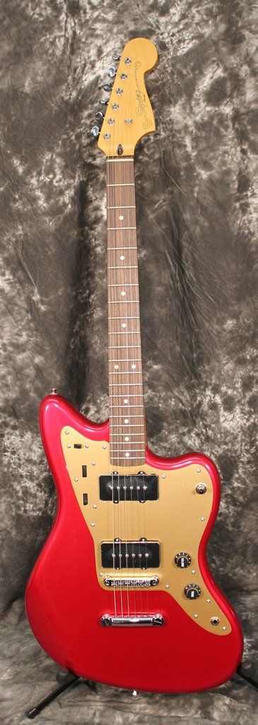 Squier Deluxe Jazzmaster ST Electric guitar Candy Apple Red