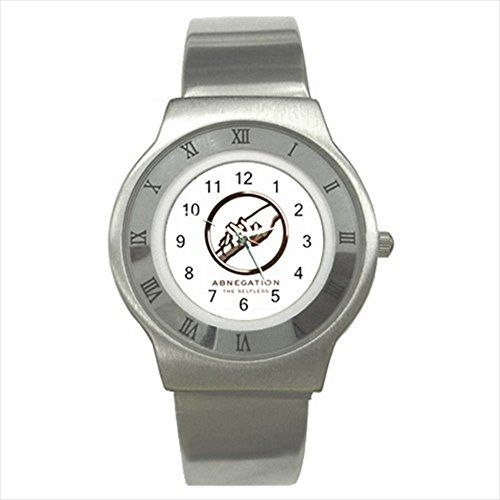 Abnegation Faction Divergent Series UNISEX ADULT Slim Stainless Steel Watch Quinn Cafe http://www.amazon.com/dp/B00V35JFA2/ref=cm_sw_r_pi_dp_ZB9dvb03CFJ4Z