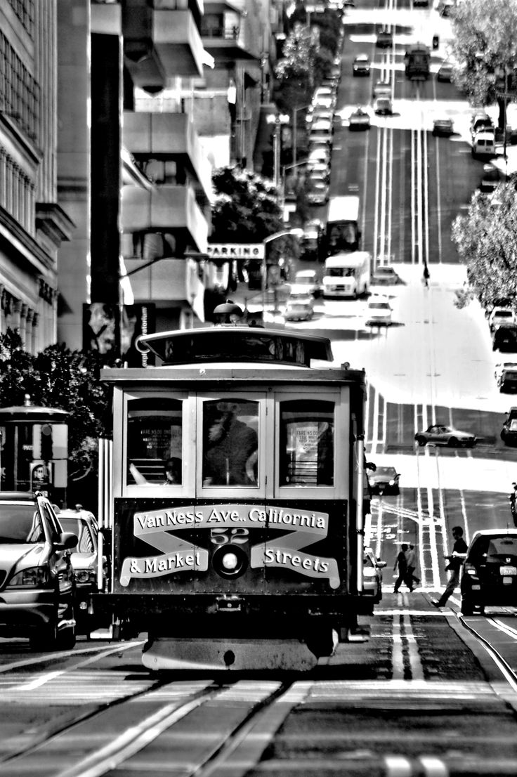 San Francisco: A photograph that I shot in my favorite city.