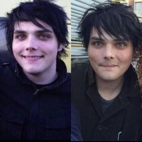Gerard Way | He never ages! He doesn't age! It's a thing that doesn't happen!