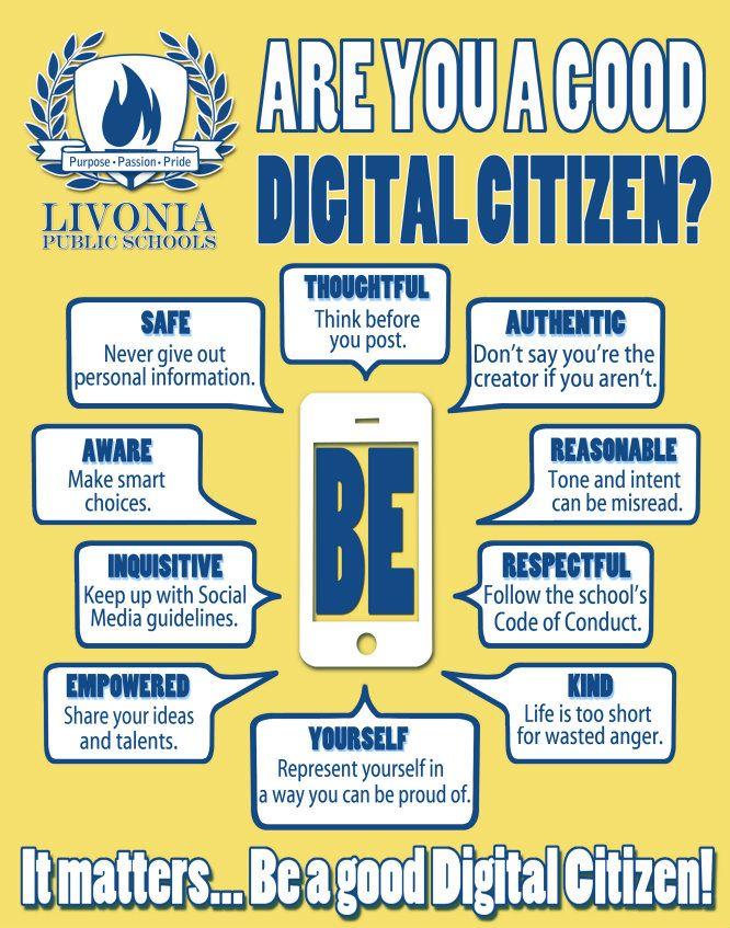 Digital Citizenship And Social >> Resultado De Imagen Para Digital Citizens Ciudadania Digital