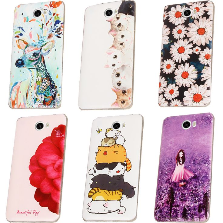 For Huawei y5 II Case Cover Silicone,Cute Cover Case For Huawei y5 II Phone Case Cover TPU Soft Back Case 100%
