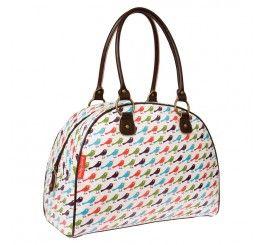 Nicky James birds overnight bag