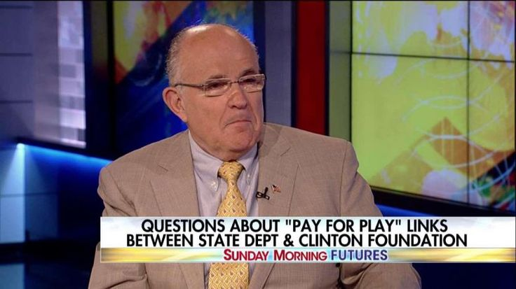 'She Sold Out Our Country': Giuliani Rips Hillary for Alleged 'Pay-to-Play' | Fox News Insider. -  And she sold out our future.  She got rich at our expense.
