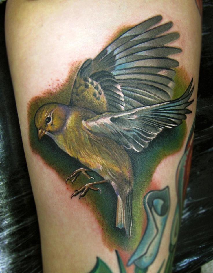Realistic duck tattoo for Realistic bird tattoo
