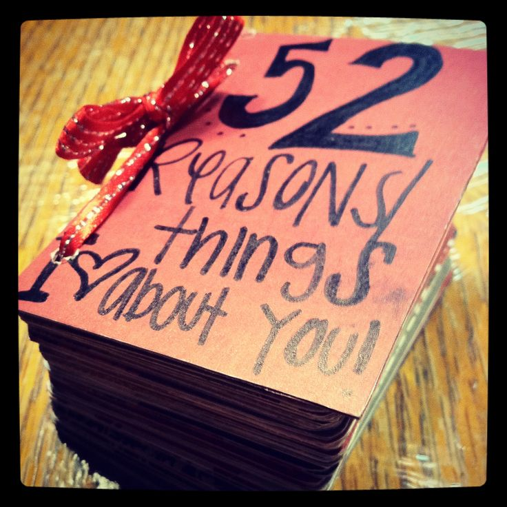 How To: 52 Things I Love About You Book {with pictures}! Made out of an old deck of cards, ribbon, and scrapbook paper