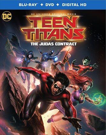 Teen Titans The Judas Contract 2017 English 720p BRRip 750MB ESubs