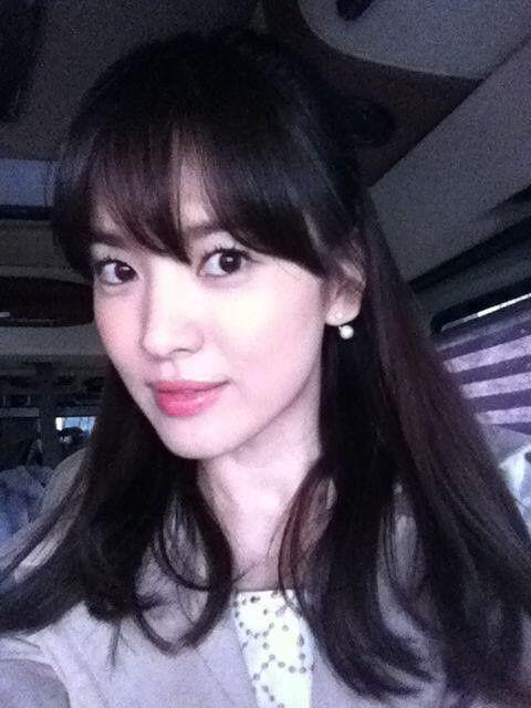 song hye gyo selca twitter