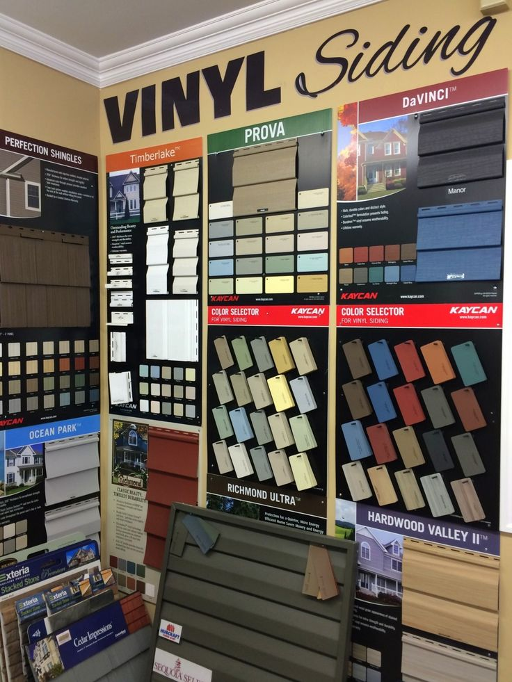 In the market for some siding options & colors? Check out some of our Siding Samples! HubCraft Timber Mart