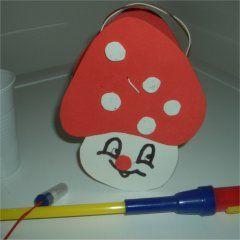 Copo de cogumelo Lantern