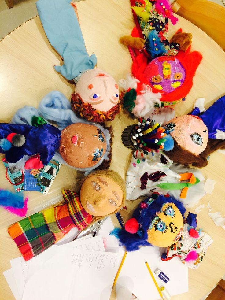 Art therapy#Marionnettes#SabrinaMazzolaArtTherapist