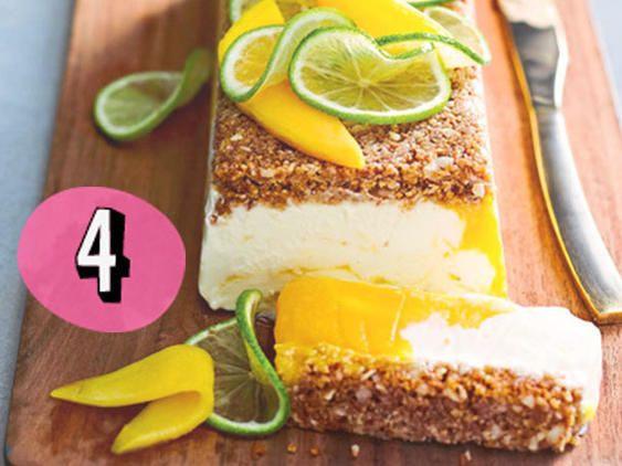 Frozen Mango Cheesecake