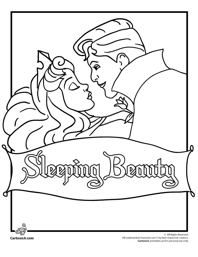 25 best ideas about sleeping beauty cartoon on pinterest for Free sleeping beauty coloring pages