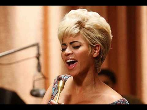 From the movie Cadillac Records.... Beyoncé - I'd Rather Go Blind