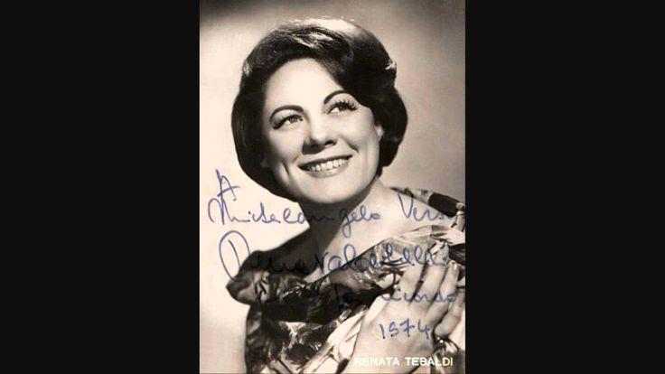 """Renata Tebaldi sings """"La mamma morta"""" from Andrea Chenier by Umberto Giordano (1867-1948) Orchestra dell`Accamedia di Santa Cecilia, Roma Gianandrea Gavazzeni, conductor, recorded in 1957 - Magnificent, my favorite interpretation. Tebaldi at her breathtaking best."""