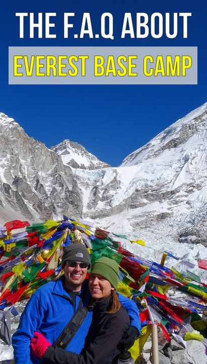 We had so many questions about the Everest Base Camp trek that weren't available online that it took us actually completing the trek to find the answers.