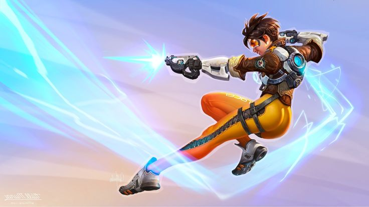 Overwatch Tracer Wallpaper For Iphone Sdeerwallpaper My Bae En