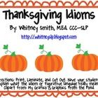 This activity consists of 32 idioms on adorable pumpkin images from My ...