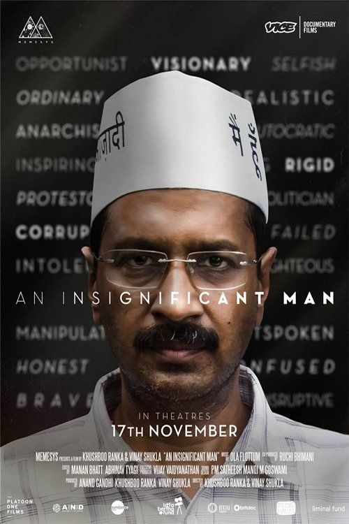 An Insignificant Man 【 FuII • Movie • Streaming