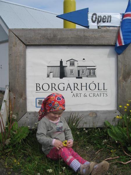 Borgarhóll á Seyðisfirði - Art & Crafts