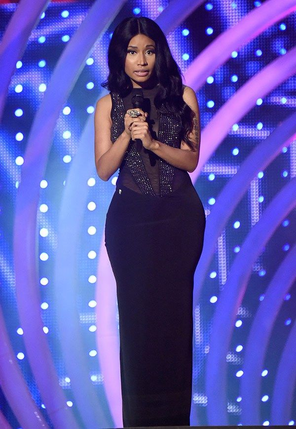 Nicki Minaj at the MTV EMAs
