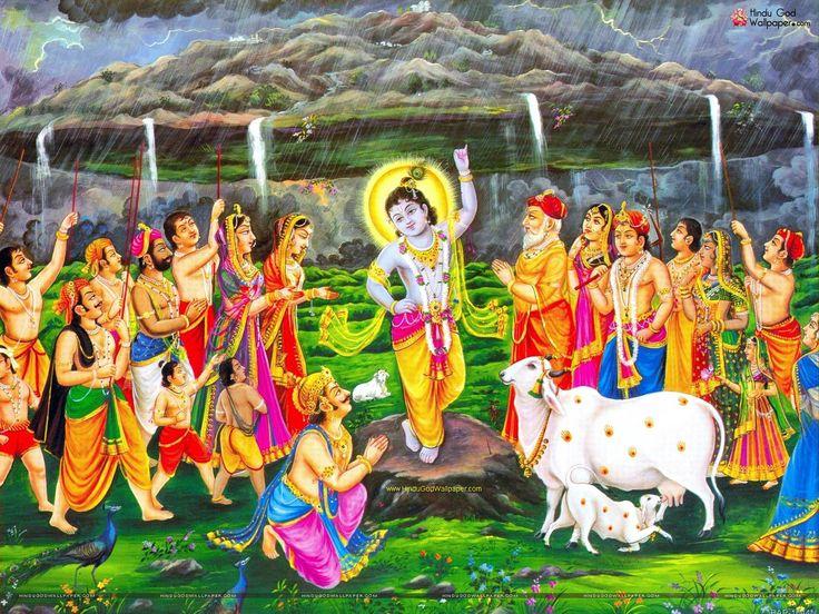 Govardhan Krishna Wallpaper Free Download
