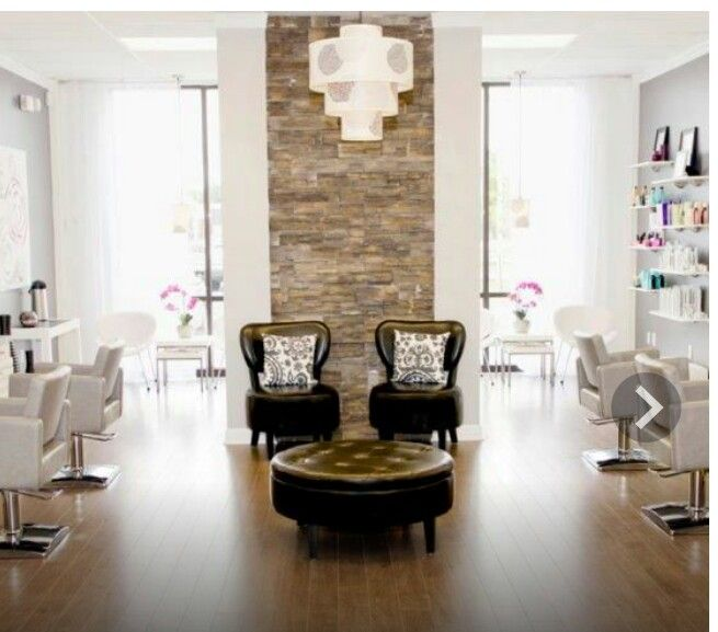 yaaaaassssi love the exposed brick the leather chairs and the white