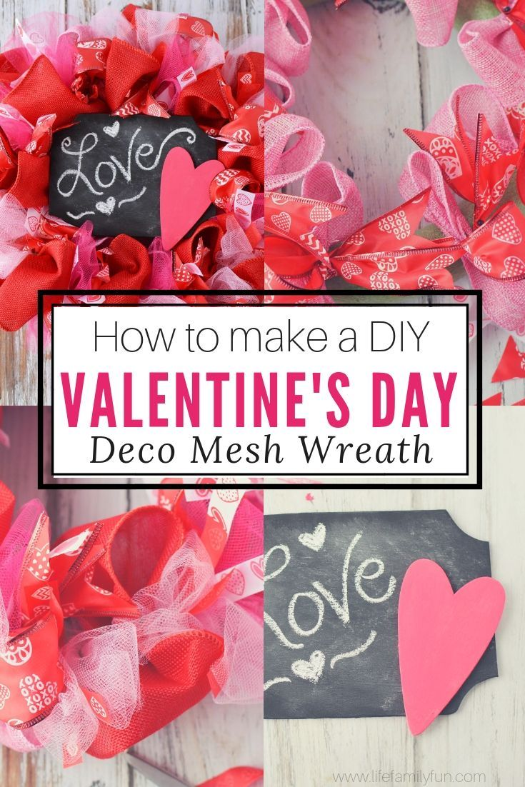 This Simple Valentine S Day Craft Is Perfect For Any Ages Diy Valentine S Day Craft Craft Vale Diy Valentines Day Wreath Valentine S Day Diy Valentines Diy