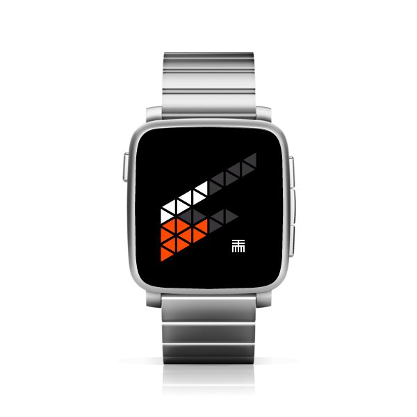 TTMMFLAG for Pebble Time Steel #PebbleTime #PebbleTimeSteel #Pebble #watchface #ttmmaftertime