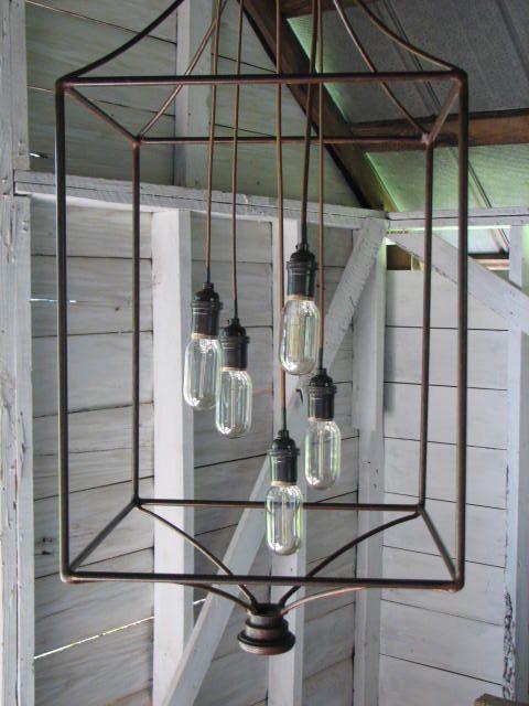 Chandelier Lantern Large Scale