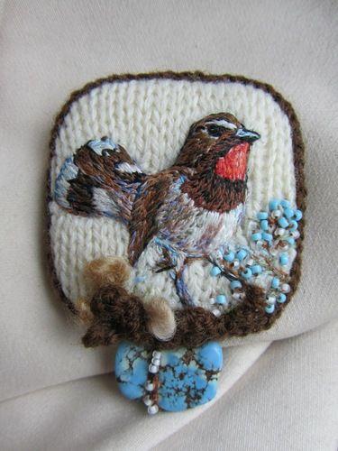 История о Птичках: делаем брошку - Ярмарка Мастеров - ручная работа, handmade