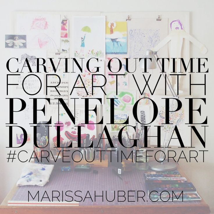 Great post on Penelope Dullaghan. http://marissahuber.com/2015/10/06/carving-out-time-for-art-with-penelope-dullaghan/