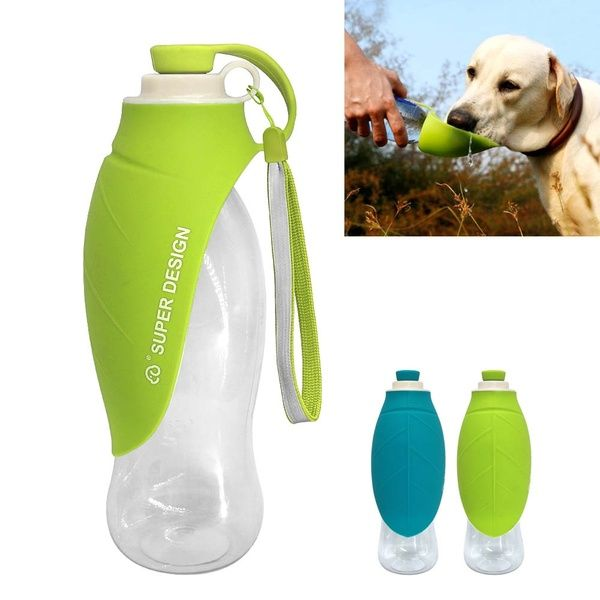650ml Sport Portable Pet Dog Water Bottle Expandable Silicone Travel Dog Bowl For Puppy Cat Drinking Outdoor Water Dispenser Wish Dog Water Bottle Dog Water Dispenser Pet Water Bottle