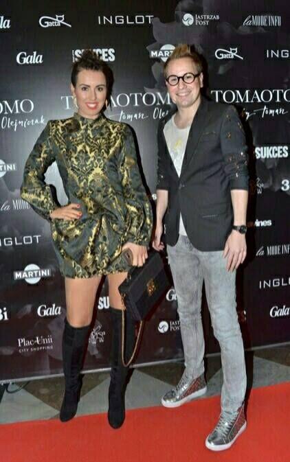 Eliza Gwiazda w sukience Gabrieli Hezner , pokaz Tomasz Olejniczk TOMAOTOMO #fashionshow #gabrielahezner #celebrites