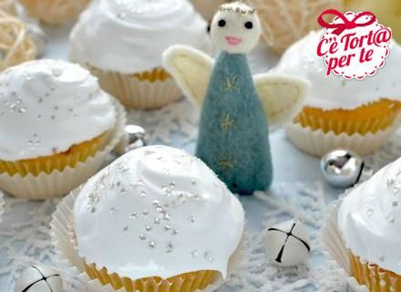 Cupcakes scintillanti per Natale