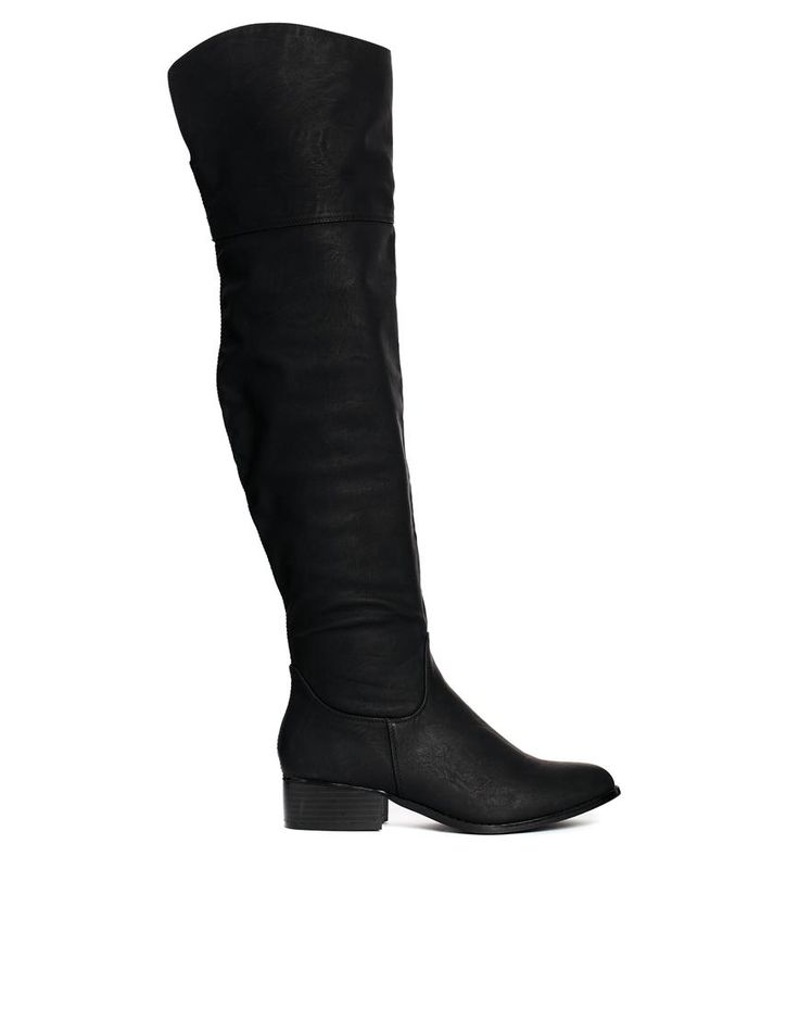 ASOS   ASOS KING Over the Knee Boots at ASOS