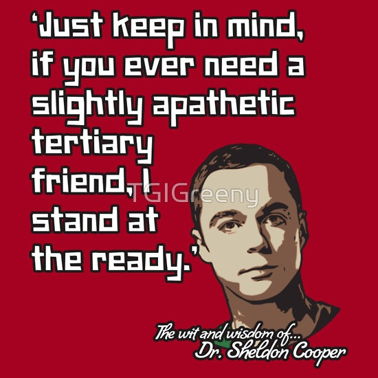 Sheldon Funny Quotes: 47 Best Sheldon's Says Images On Pinterest