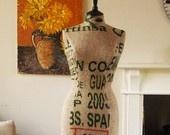 coffee sack recycled #indie #handmade