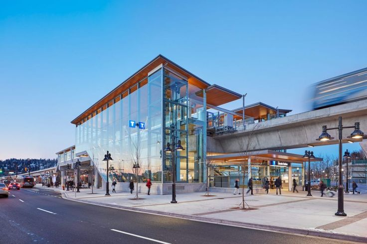 Lincoln Skytrain Station / Perkins+Will Vancouver