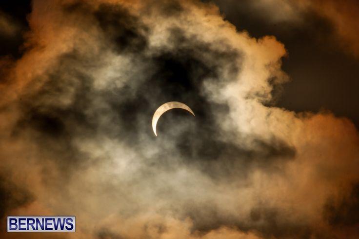 Solar Eclipse on November 3 2013 from Bermuda http://bernews.com/78or