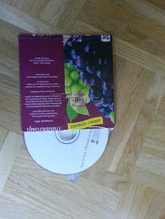 CD-Hüllen aus Tetra Pak