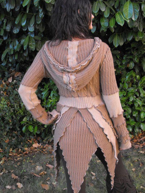 230 best Fairy / Elf Sweater Coats images on Pinterest | Sweater ...