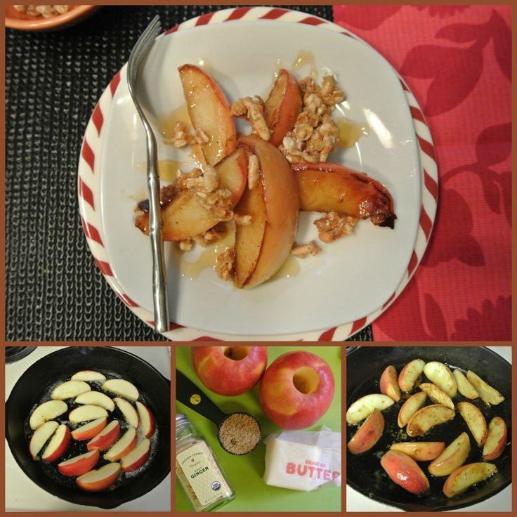Pink Lady Apple Breakfast Crisp