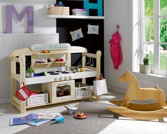 """Spielküche """"Mini-Gourmet"""" toom selbstbautipp küche aus einer gartenbank"""