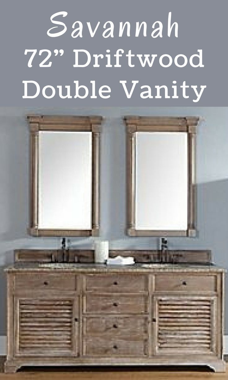 this savannah double vanity would be the perfect piece in the beachy rh pinterest com