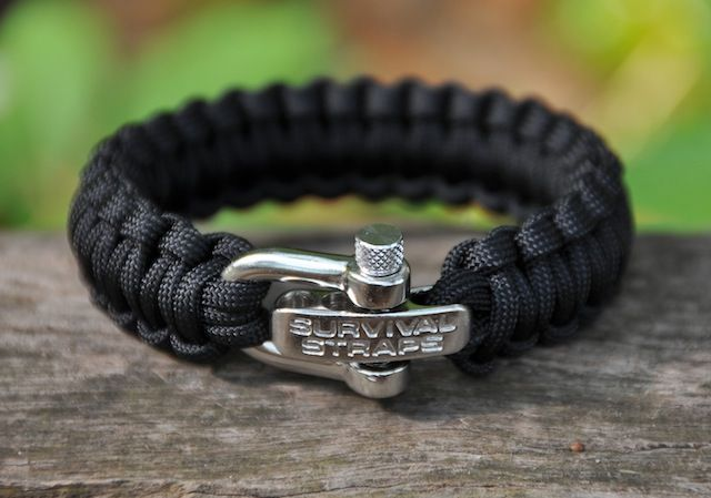 Whats not to love about a bracelet that turns into 24' of super strength military spec paracord