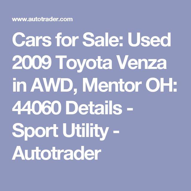 1000+ Ideas About Toyota Venza On Pinterest
