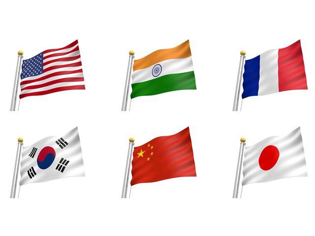 Flag Illustration Free Icon Clip Art Usa India France Korea China China Japan Flag Icon Illustration Japan Flag Flag Icon Free Illustrations